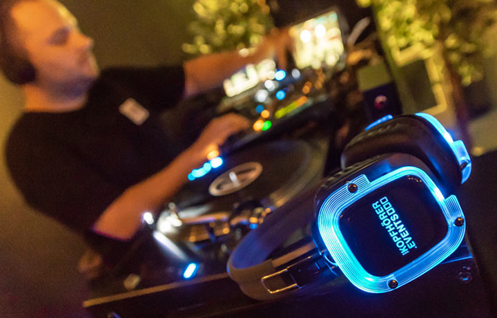 Silent Disco Equipment und Personal für große und kleine Events.